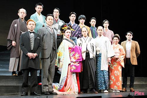現在、天王洲 銀河劇場で公演中の市原隼人主演の舞台「最後のサムライ」。本日6日、同所でその記者会