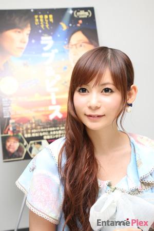 髪がきれいな中川翔子さん