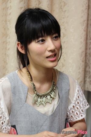 インタビューに答える福田彩乃